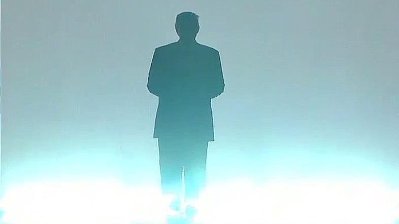 Donald Trump makes WWE-style entrance at Republican convention - Al ...