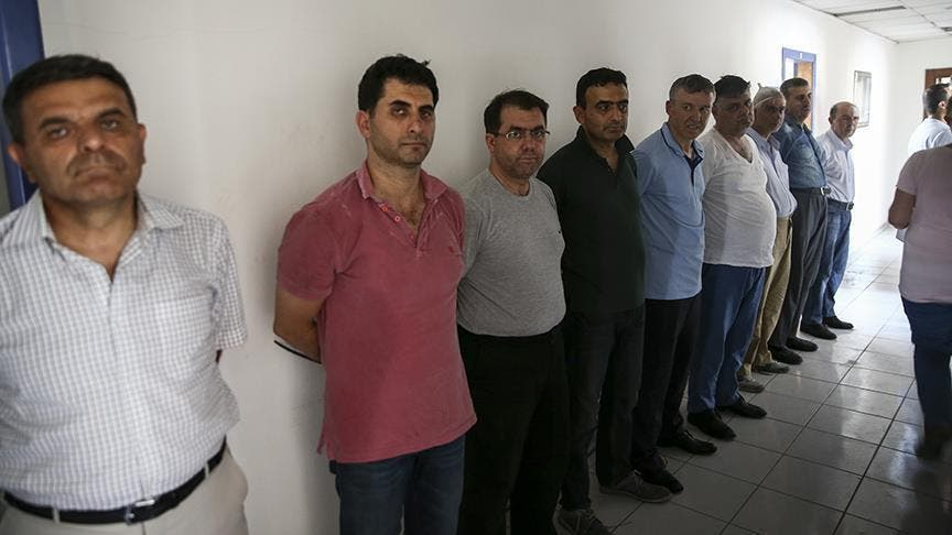 اعتقالات بعد انقلاب تركيا