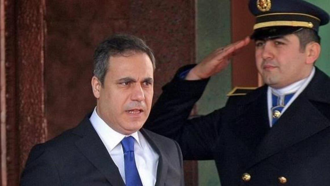هاكان فيدان رئيس جهاز المخابرات  العامة التركية