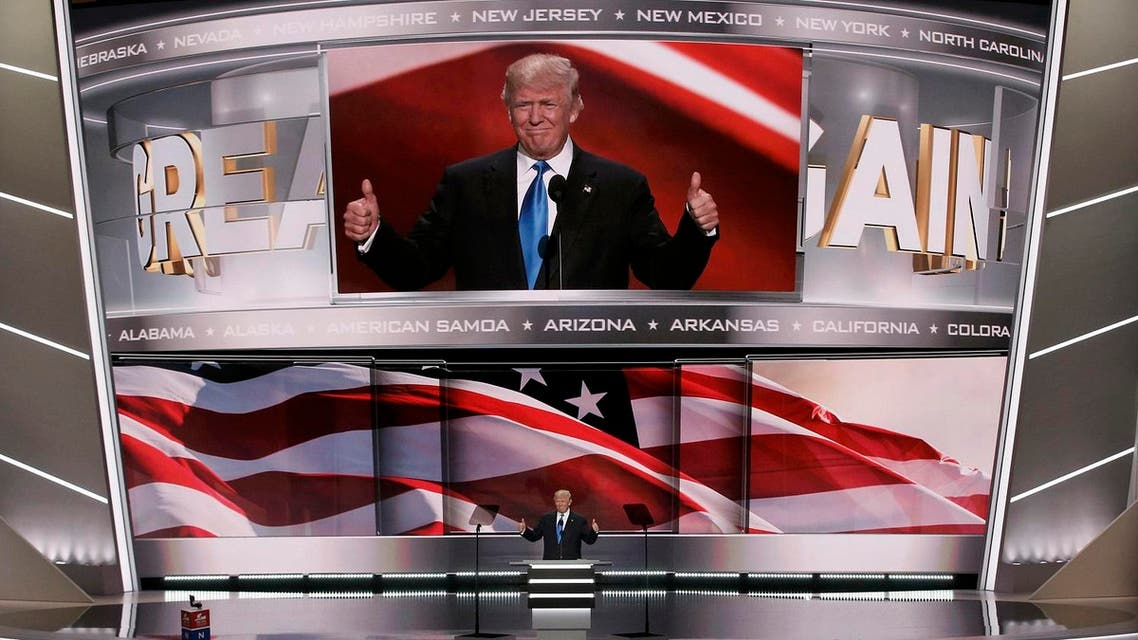 The roll call vote of states gave Trump enough delegates at the Republican National Convention to win the nomination after months of speculation and dissent. (Reuters)