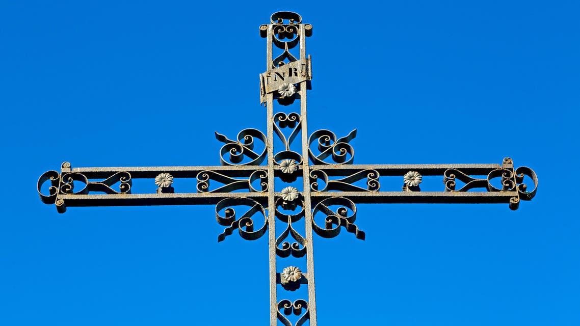 CHURCH CROSS SHUTTER STOCK