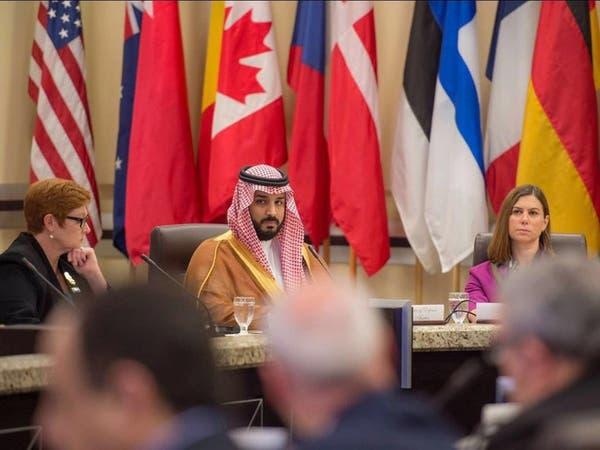 محمد بن سلمان يلتقي وزراء دفاع أميركا وفرنسا وبريطانيا