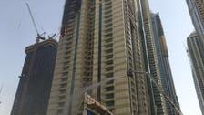 Blaze rips through Dubai's Sulafa tower