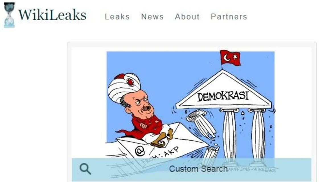 Turkey's Telecommunications Communications Board said an 'administrative measure' had been taken against the website. (Wikileaks)