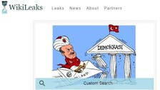 Turkey blocks access to WikiLeaks after ruling party email dump