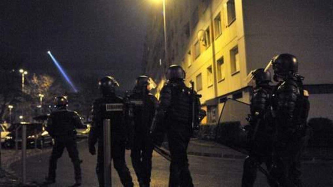 الشرطة في ضاحية باريس