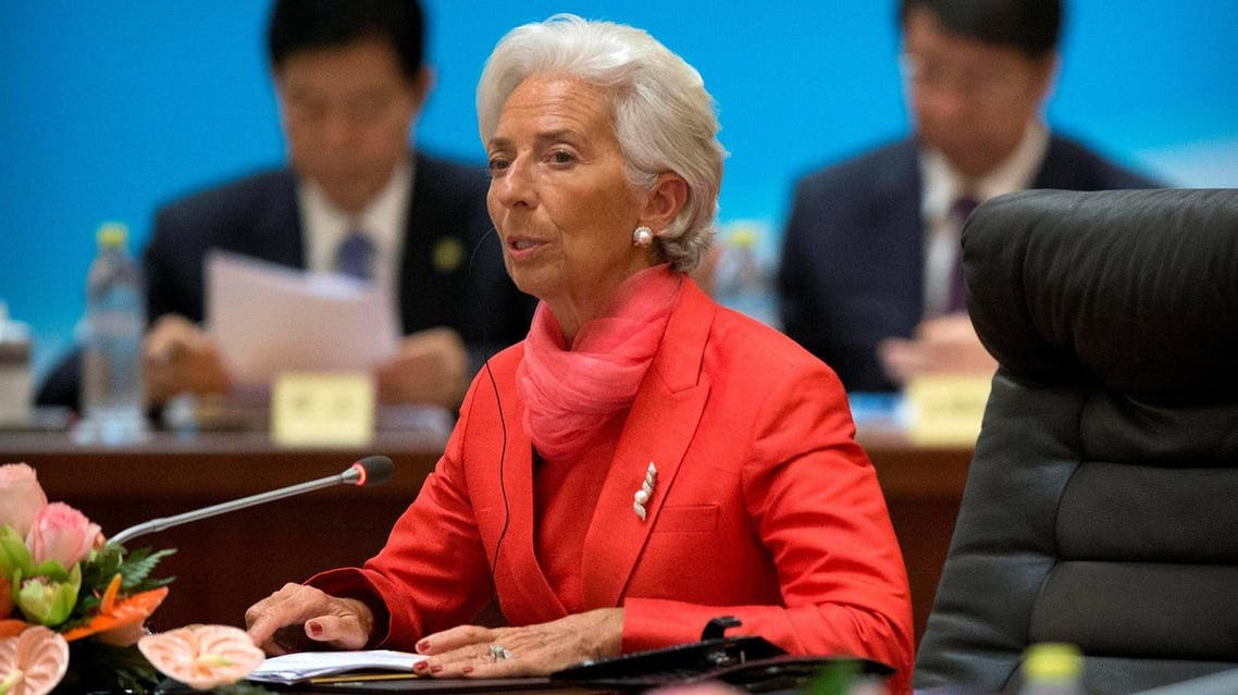 International Monetary Fund (IMF) director Christine Lagarde (C) speaks at the 1+6 Roundtable on promoting growth in the Chinese and global economies at the Diaoyutai State Guesthouse in Beijing, China, July 22, 2016. REUTERS