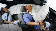 أحزمة الأمان والوسائد الهوائية تساعد في منع كسور الوجه