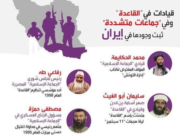 من هم قياديو القاعدة الذين تؤويهم إيران؟