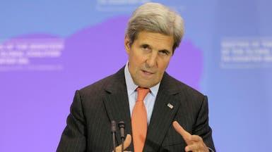 كيري: سياسات إيران في اليمن وسوريا تعقد الاتفاق النووي