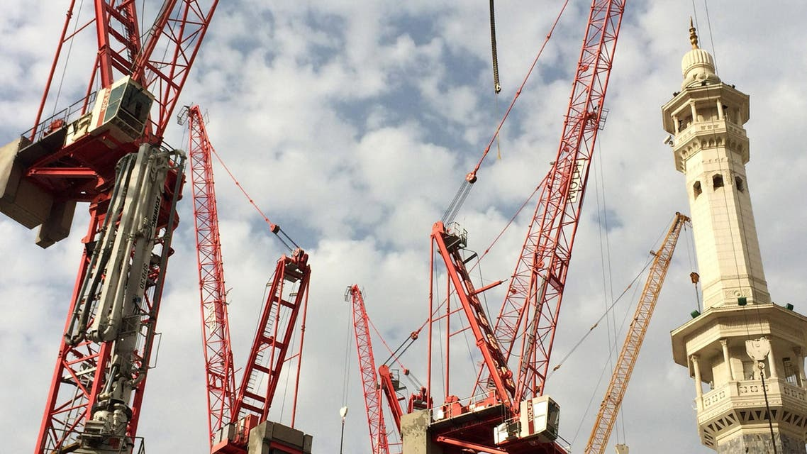 Cranes in Makkah