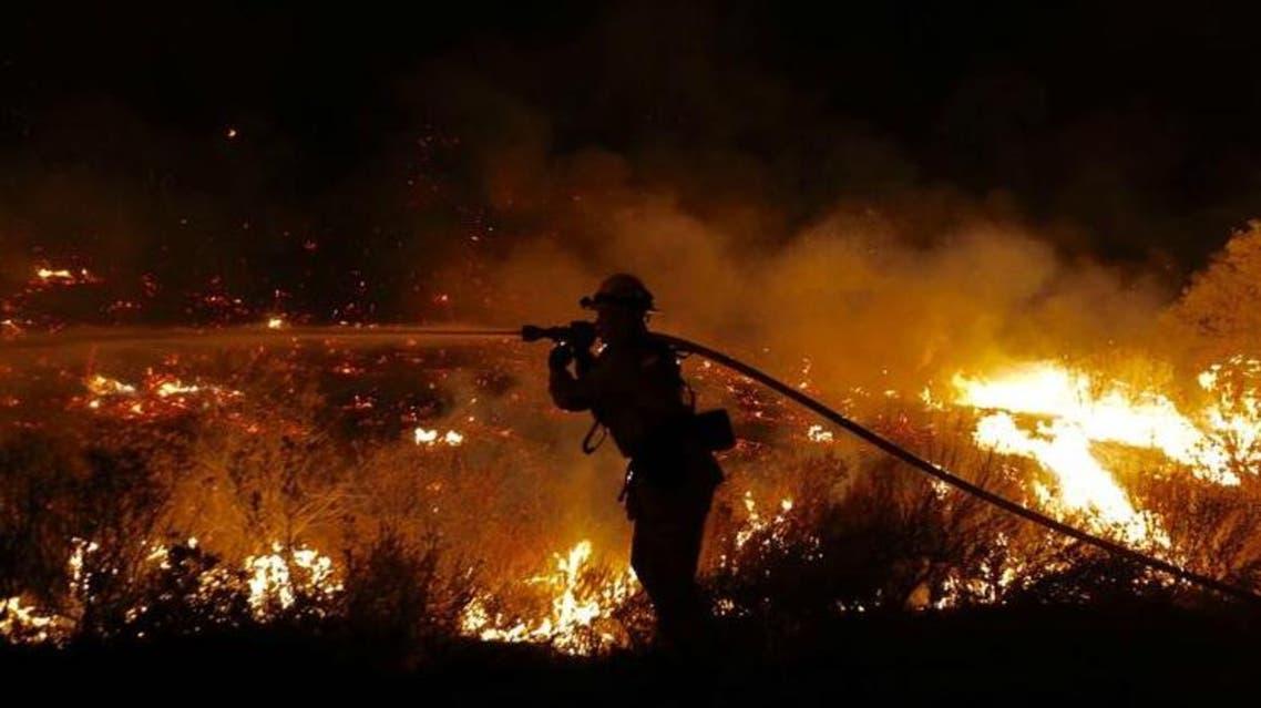 حريق غابات