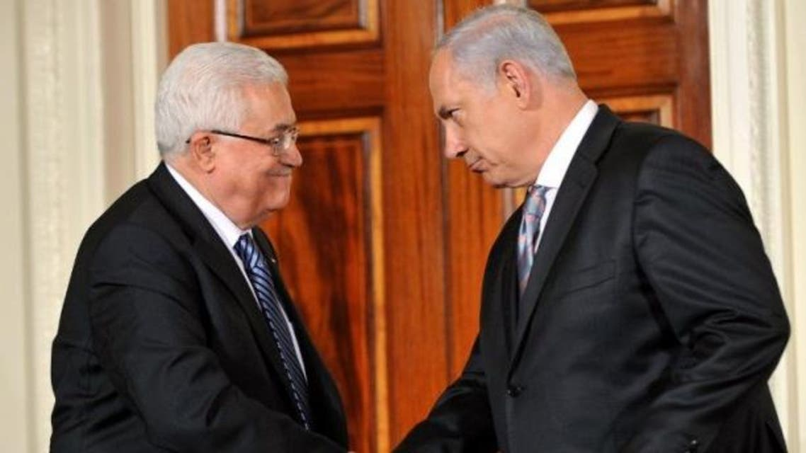 نتانياهو و محمود عباس