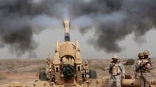 سعودی فورسز نے حوثیوں کا چلایا بیلسٹک میزائل مار گرایا