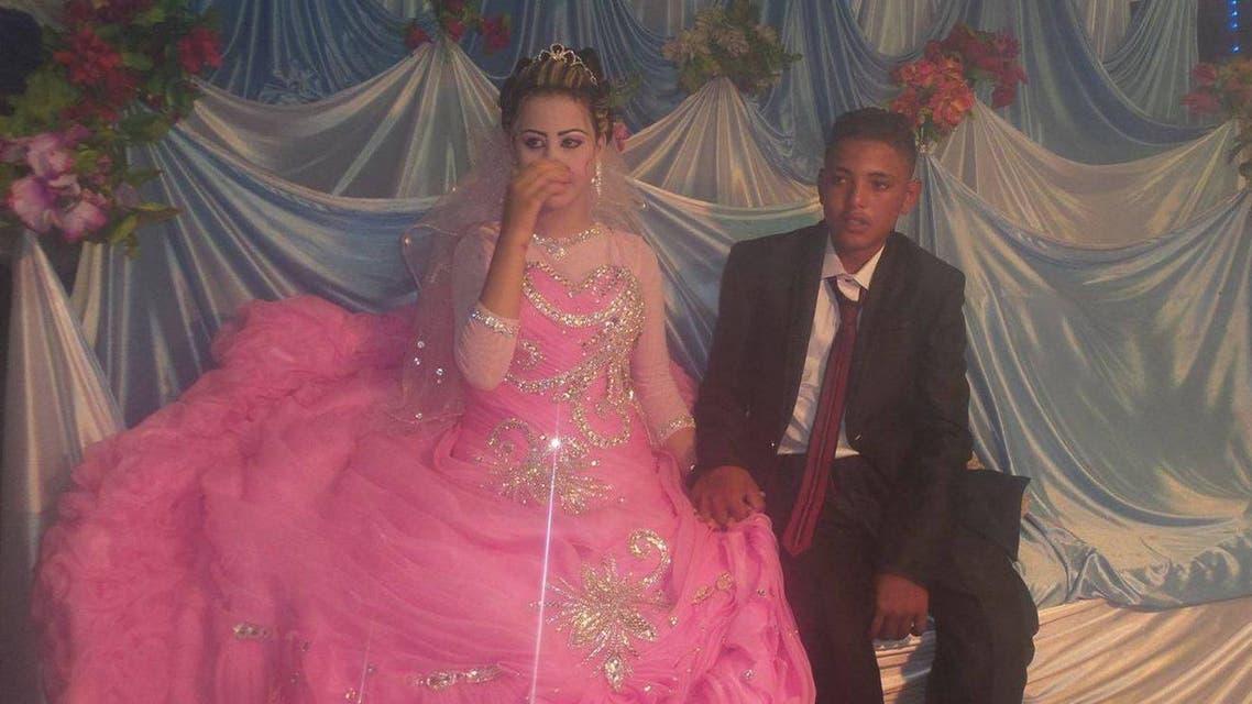 أصغر عروسين في مصر