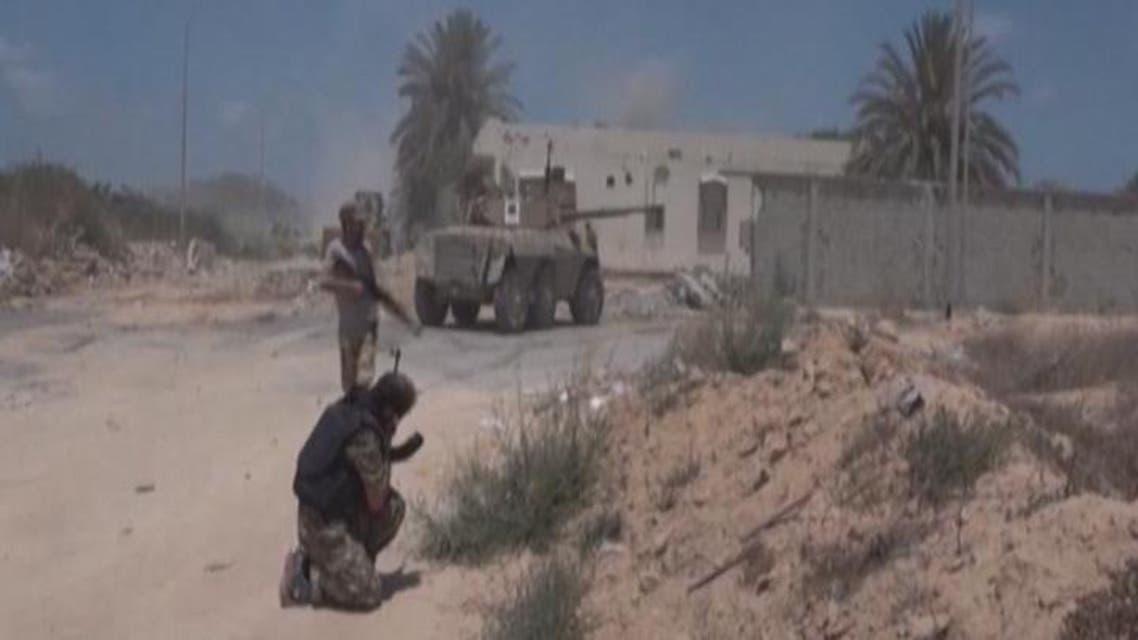 THUMBNAIL_ قوات موالية لحكومة الوفاق تتقدم باتجاه وسط سرت