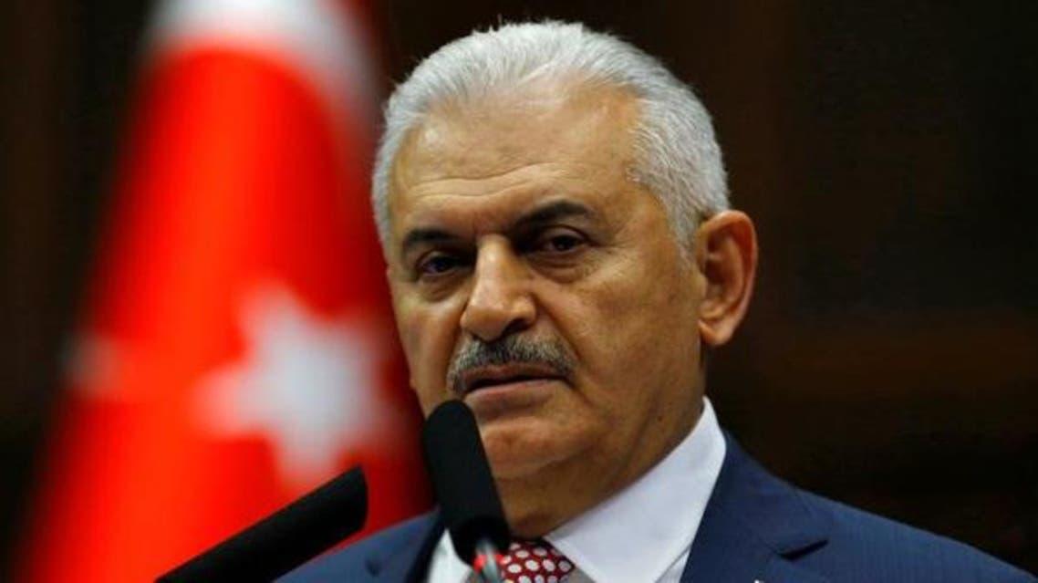 رئيس الوزراء التركي بن علي يلدريم