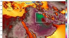 کویت میں کرہ ارض کا بلند ترین درجہ حرارت ریکارڈ