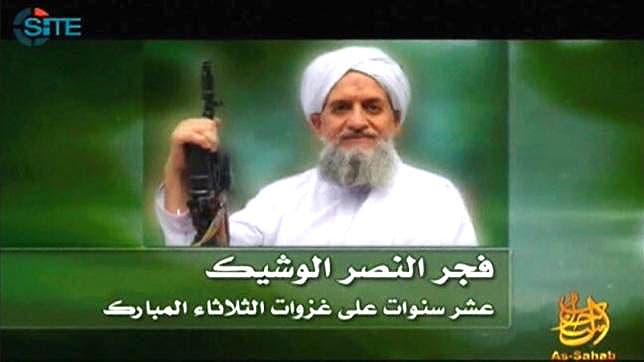 Zawahiri is believed to be seeking refuge in the Afghanistan-Pakistan border area that is the Taliban's base. (Reuters)