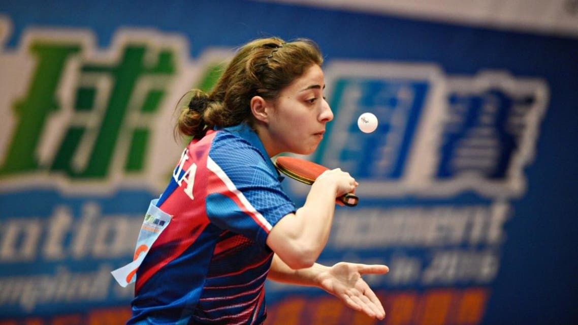Allejji said she used to train in China and would travel abroad regularly for camps, but she had to stop two years ago when the cost got too high. (Photo courtesy: Hong Kong Table Tennis Association)