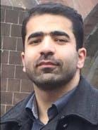 <p>احسان فتاحی فعال کُرد مقیم در لندن</p>