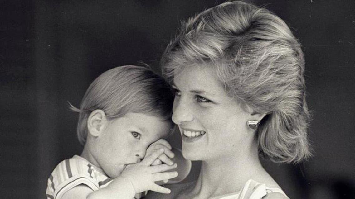 Prince Harry regrets not talking sooner about Princess Diana's death. (AFP)