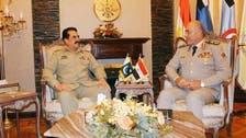 مصری فوج پاکستان آرمی کی دہشت گردی مخالف جنگ سے استفادے کی خواہاں