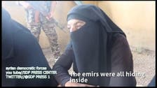 Male ISIS fighters caught dressed in niqab fleeing Manbij