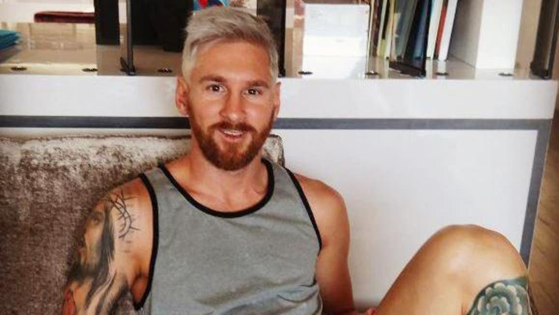 messie blond hair instagram