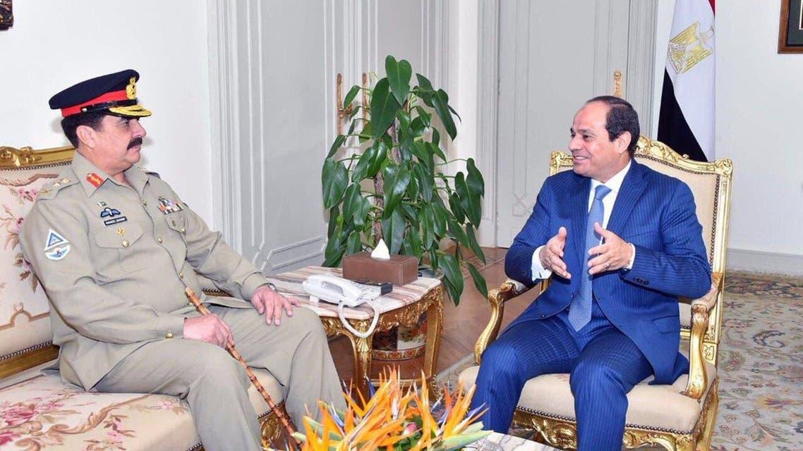 General Raheel Sharif With Egyptian President