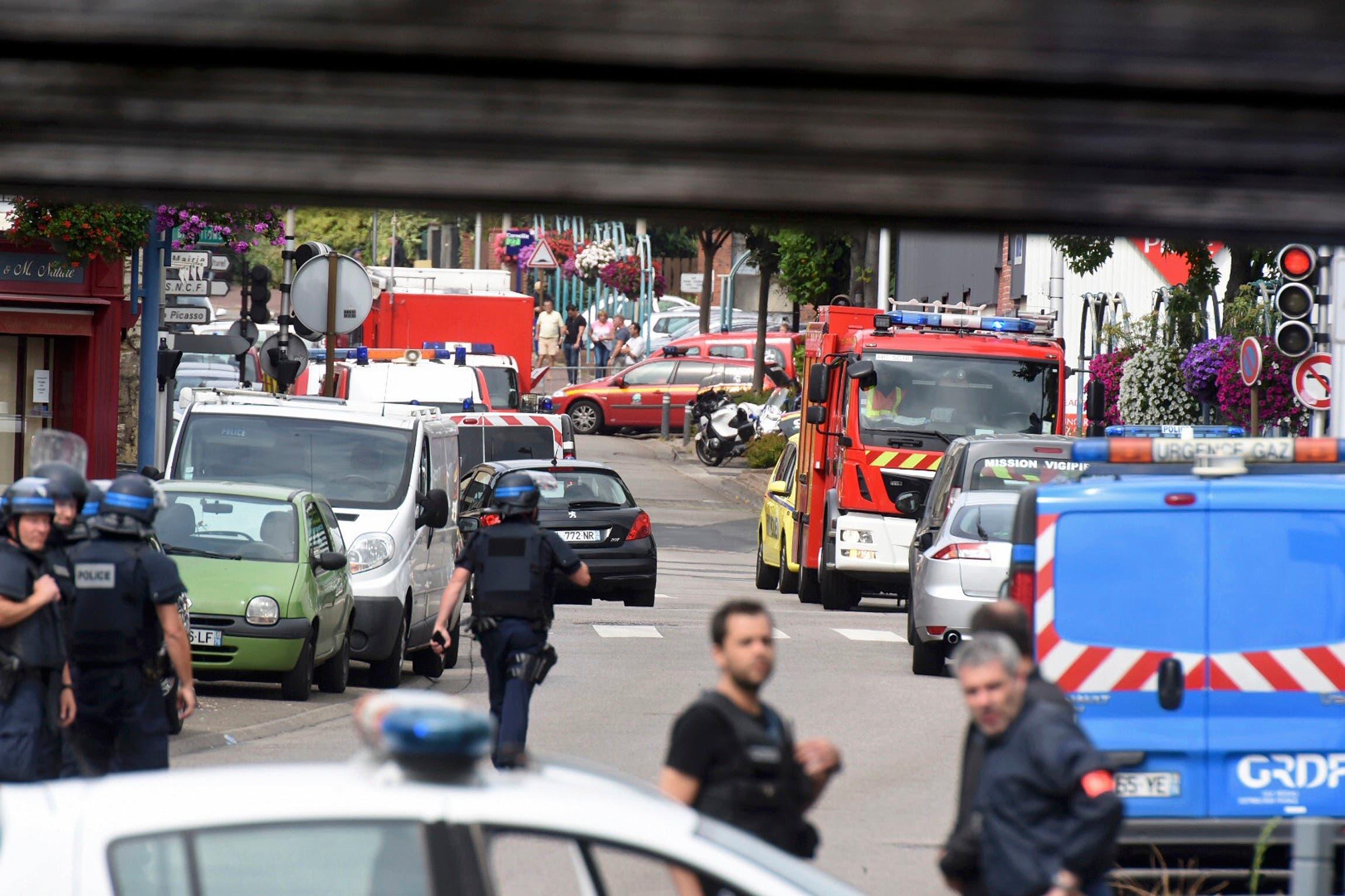من هجوم الكنيسة في فرنسا