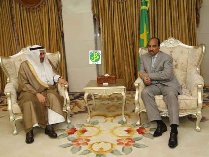 الرئيس الموريتاني يبحث جهود محاربة الإرهاب مع مدني
