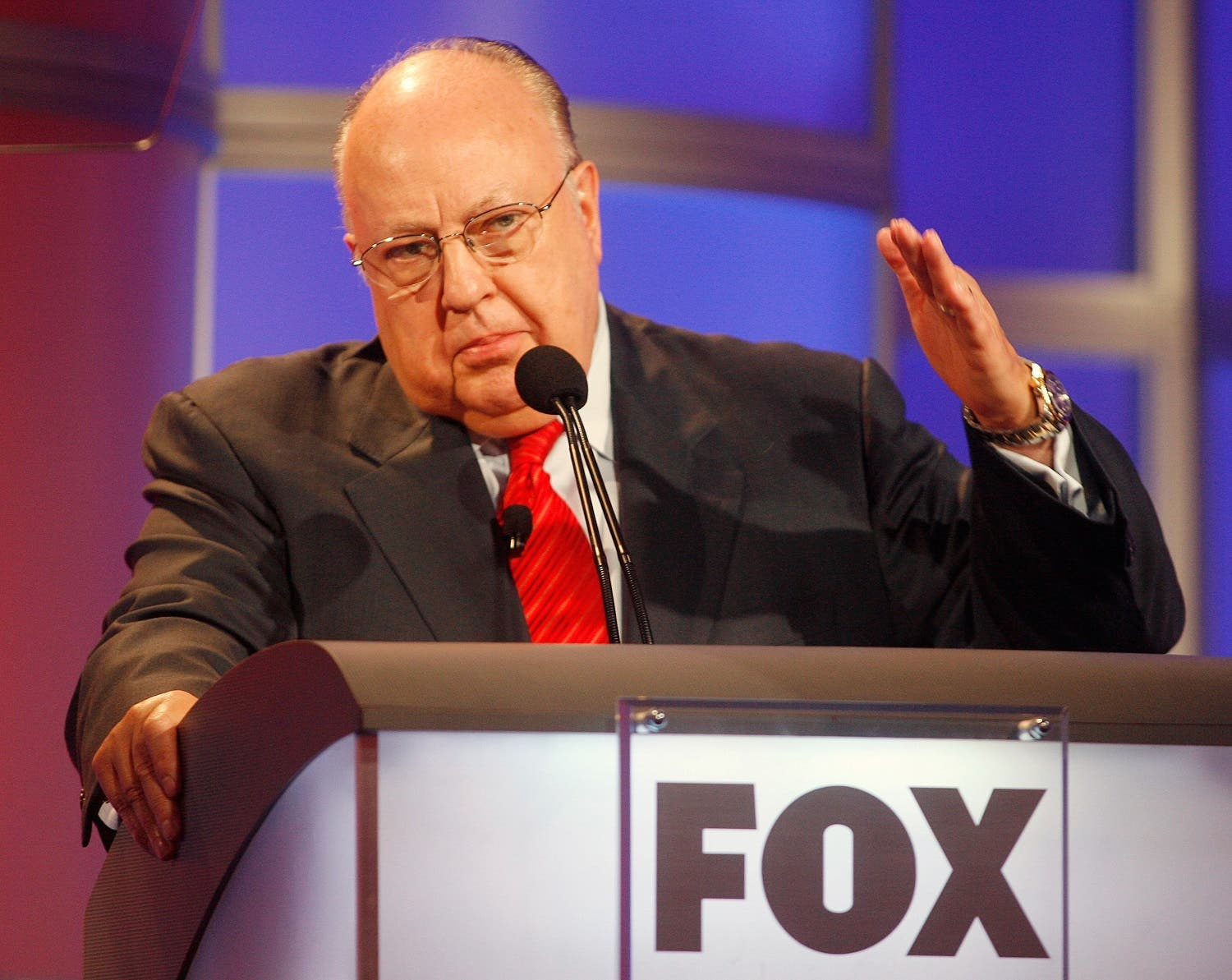 File photo of Roger Ailes, chairman and CEO of Fox News in Pasadena. (Reuters)