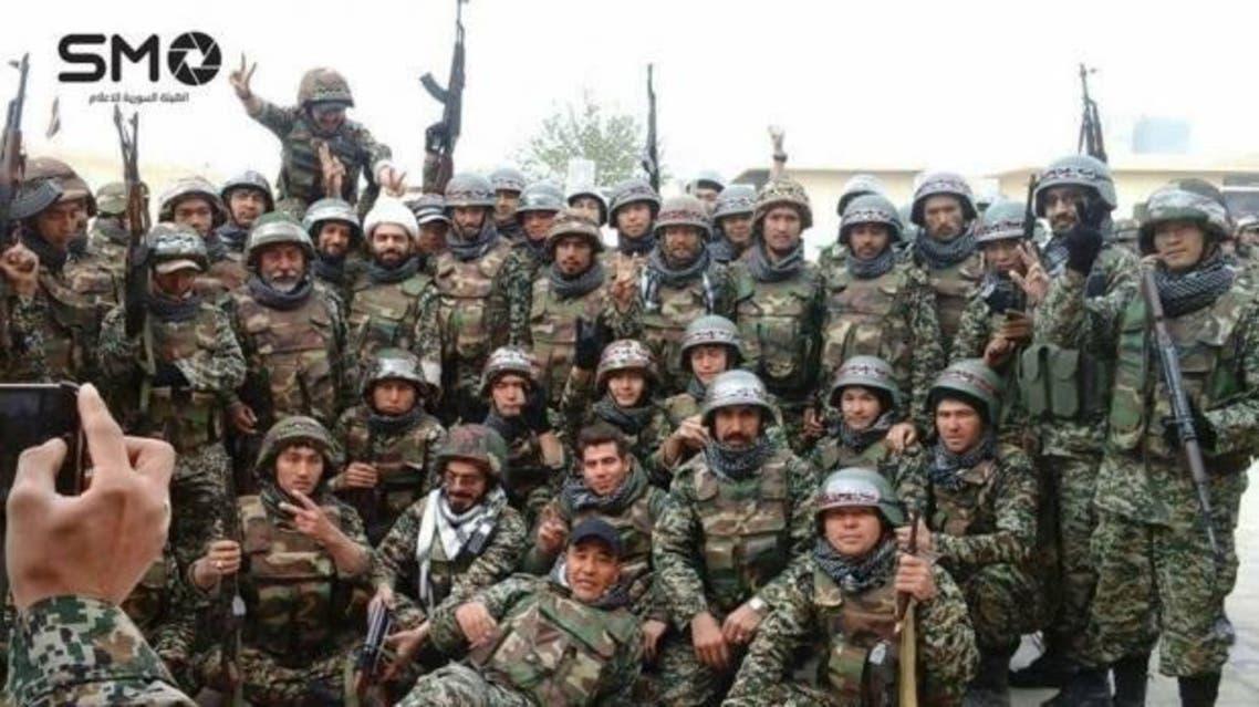 افغان های شیعه در گروه فاطمیون در دفاع از بشار اسد می جنگند