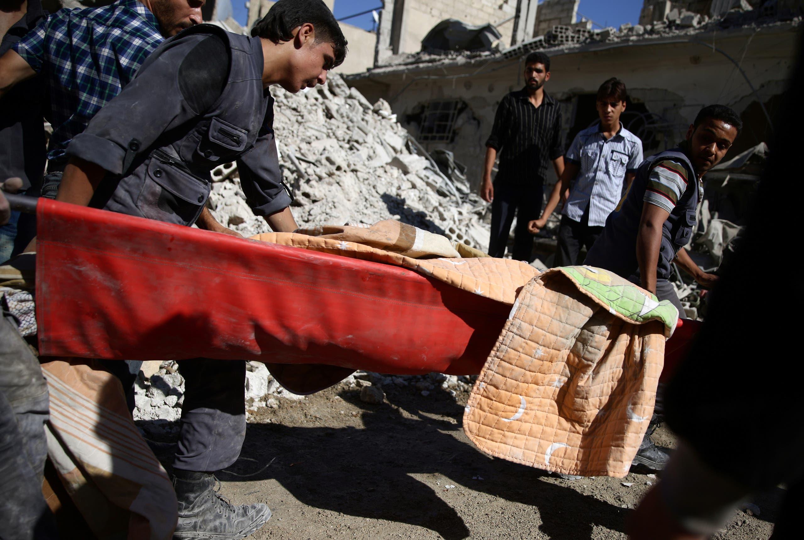 Air strikes in rebel-held Syria