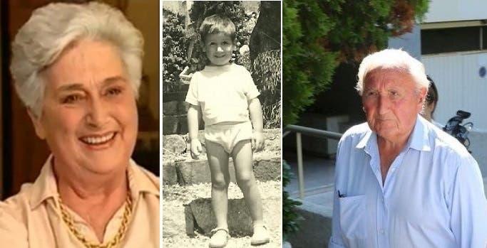 صورة في روان لفرنسوا أولاند بعمر 4 سنوات، ثم والده المتقاعد ووالدته الراحلة