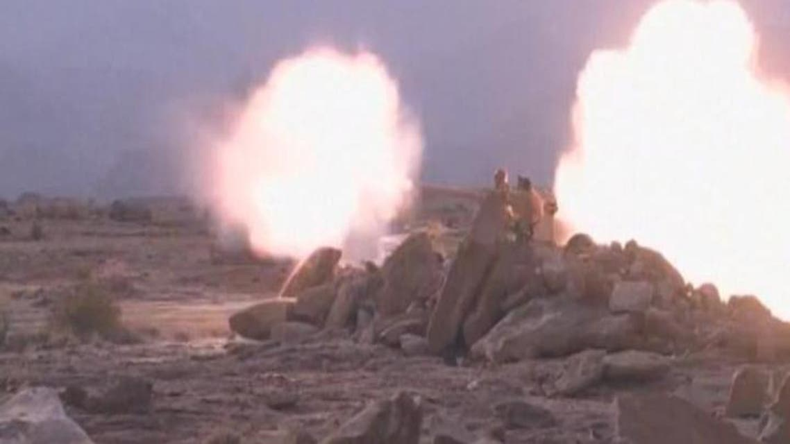 THUMBNAIL_ بالصور.. القوات السعودية تدمر صاروخاً حوثياً باليستياً