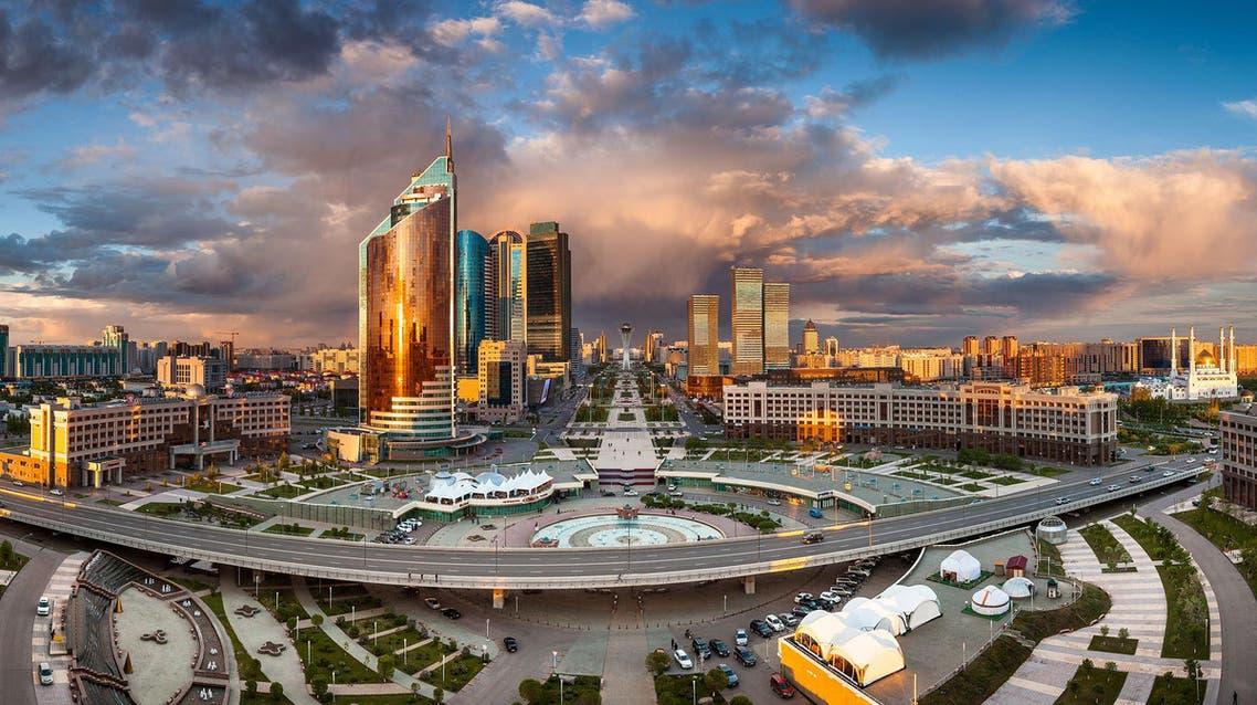 آستانة عاصمة كازاخستان
