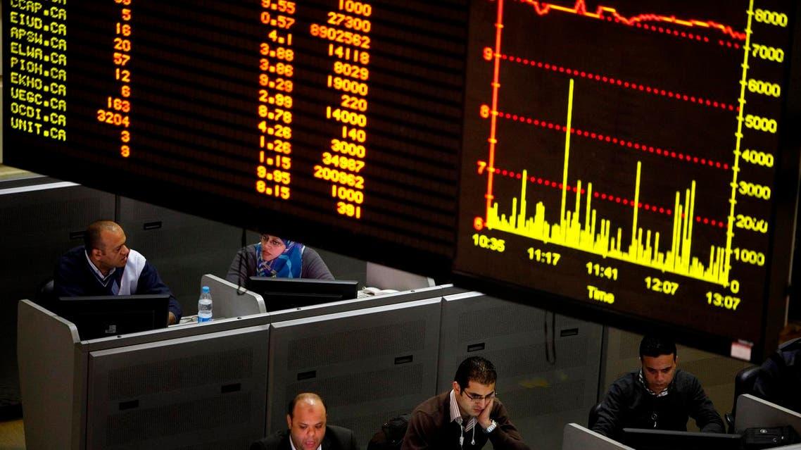 Egypt stock market AP