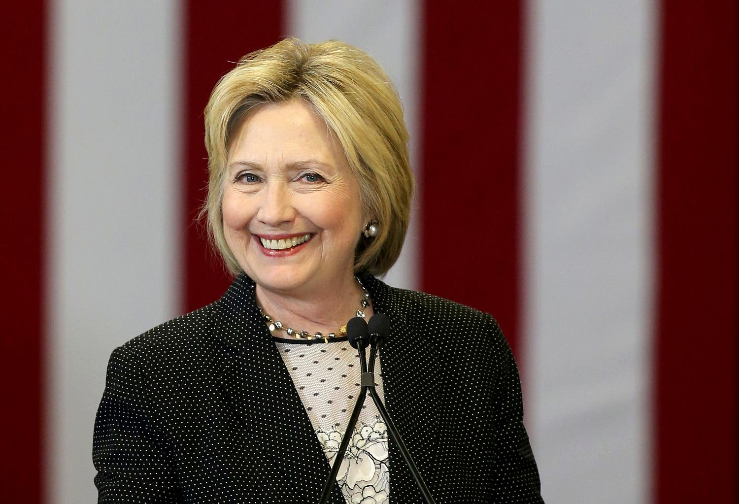 Clinton will become the party's standard-bearer against Republican nominee Donald Trump in the Nov. 8 election. (Reuters)