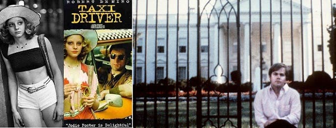 كان يجلس دائماً أمام البيت الأبيض، حالما بالسكن فيه مع من عشقها حين رآها بفيلم سائق التاكسي قبل 40 سنة