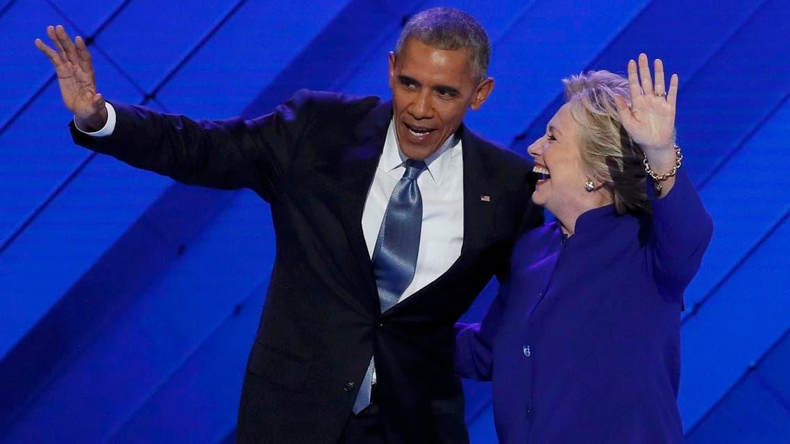 obama clinton reuters