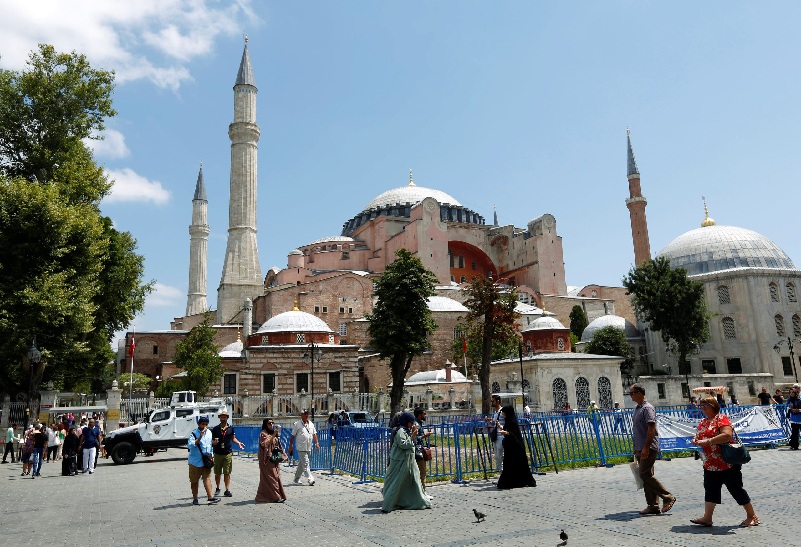 A shot of the majestic Hagia Sophia. (File photo: Reuters)