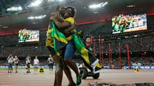 Usain Bolt's mom says key to keeping him calm is laughter