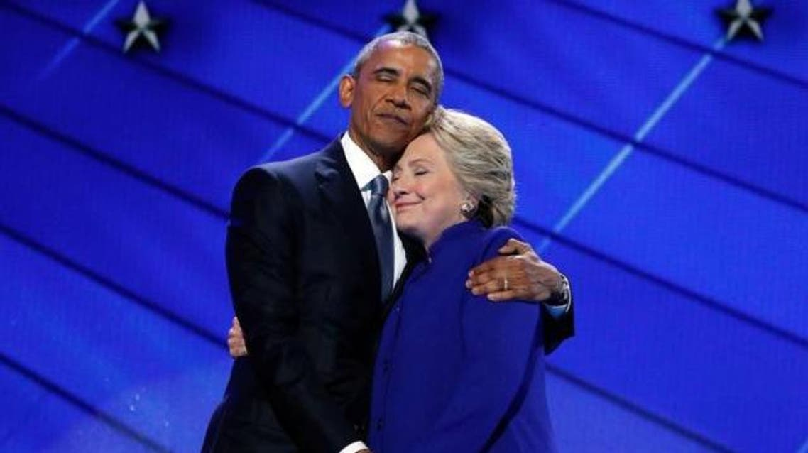 كلينتون و أوباما