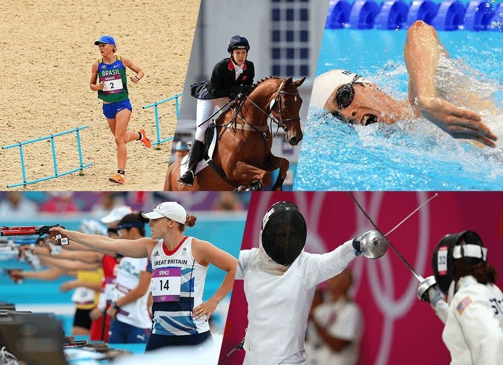 Modern Pentathalon at the Rio Olympics 2016. (www.rio2016.com)