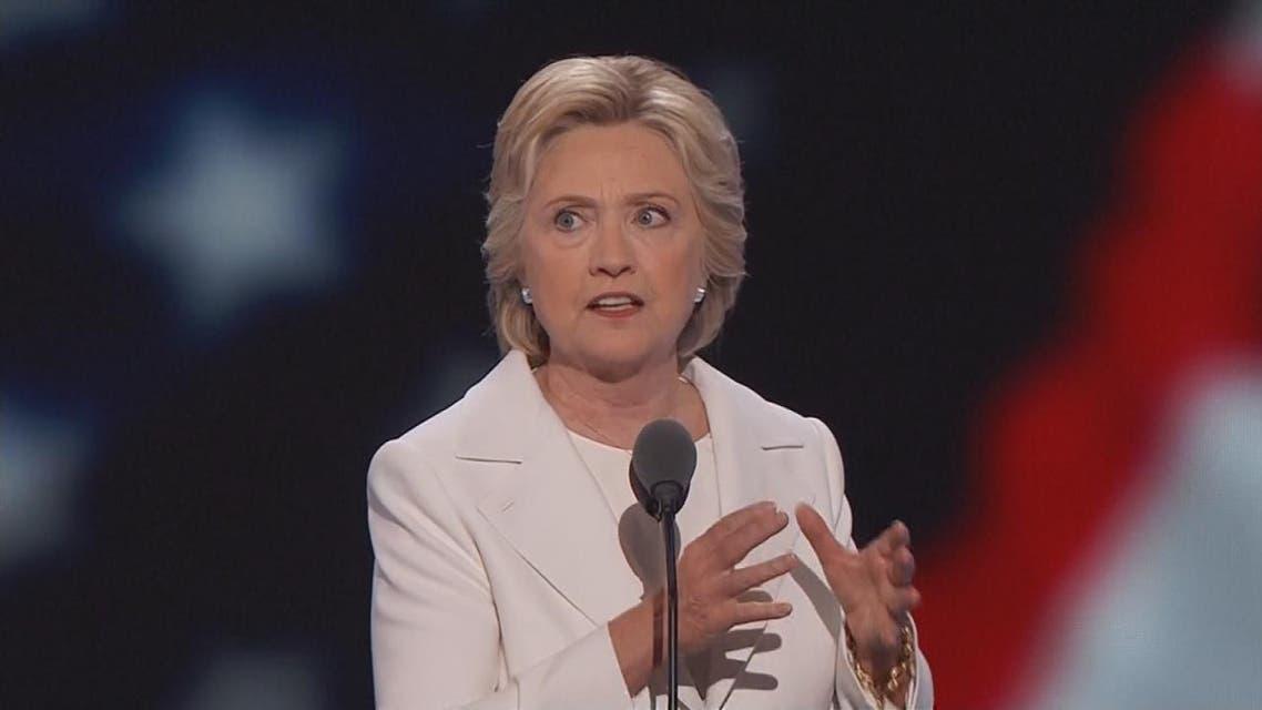 THUMBNAIL_ كلينتون تقبل ترشيحها للبيت الأبيض: لن نحظر ديناً