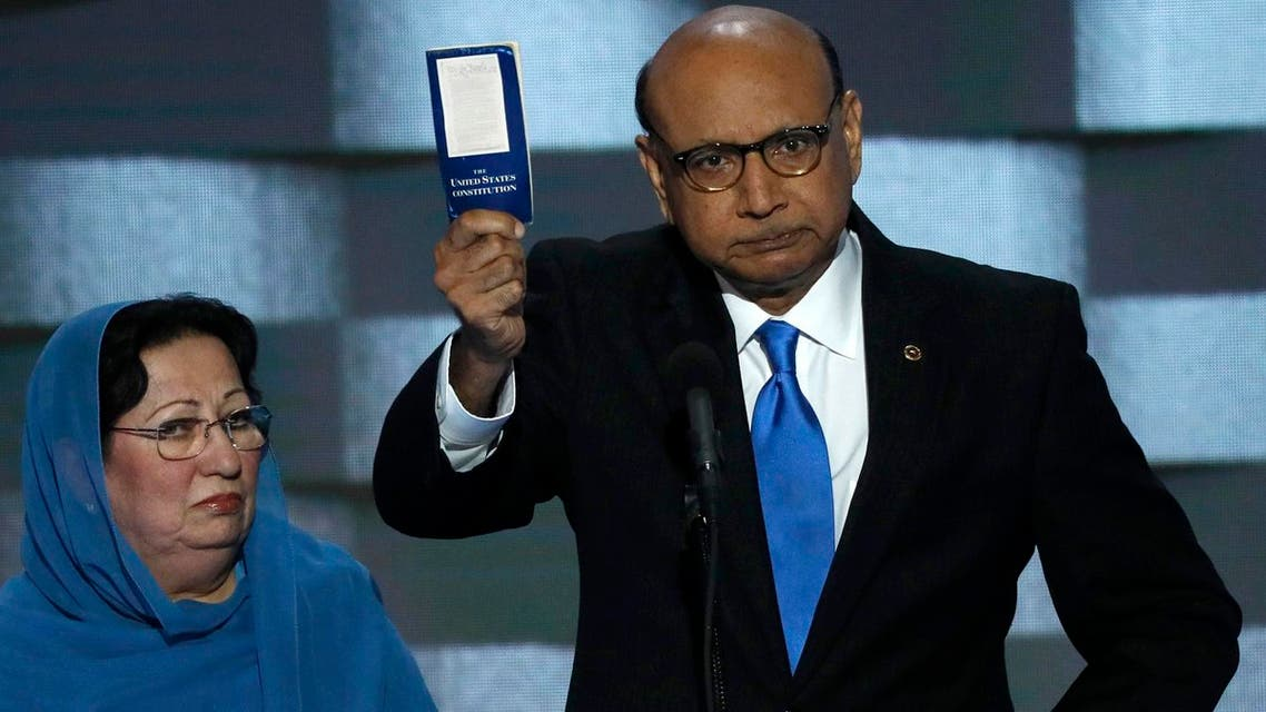 Khizr Khan, whose son, Humayun S. M. Khan was one of 14 American Muslims who died serving in the U.S. Army in the 10 years after the 9/11 attacks. (Reuters)