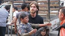 10 civilians dead in air strike on Syria rebel town