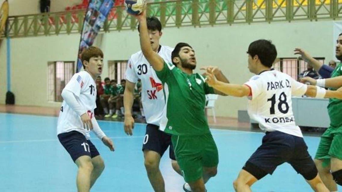 السعودية لكرة اليد الشباب